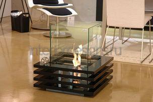 стеклянный камин