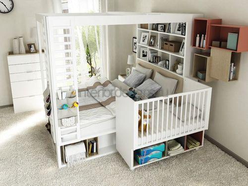 Комбинированная спальня
