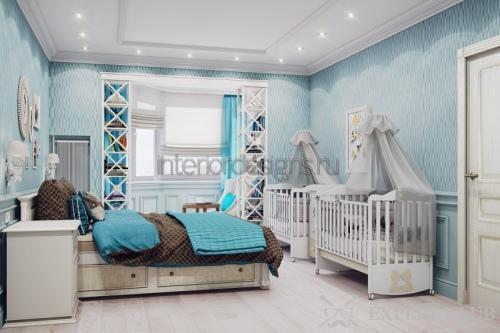 Кроватки для близнецов