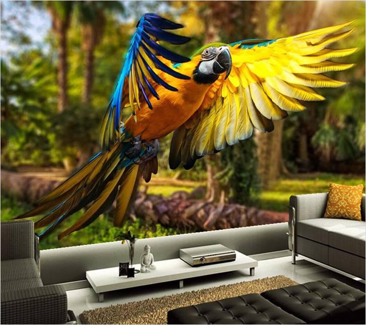 Сюжеты с птицами и животными могут как успокаивать, так и подчеркивать характер владельца квартиры