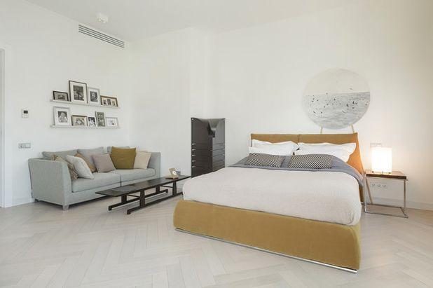 Современный Спальня Современный Спальня