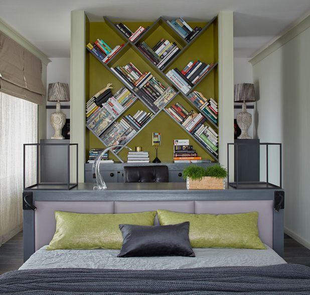 Современный Спальня by IN-DECO