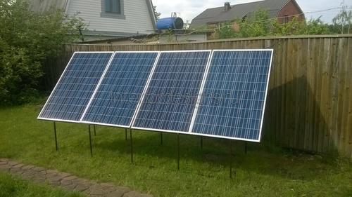 Солнечная панель на участке