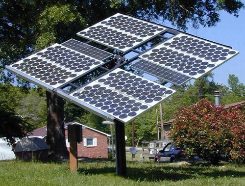 Отдельностоящая солнечная батарея для дома