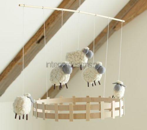 Пушистые овечки