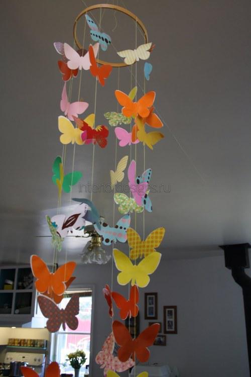 Текстильные бабочки