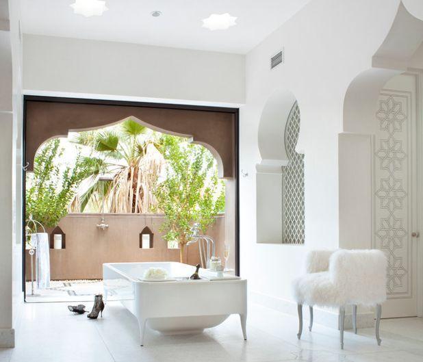 Средиземноморский Ванная комната Mediterranean Bathroom