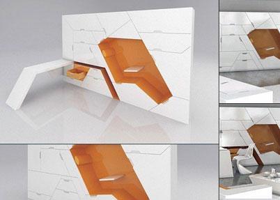 Компактная мебель из коллекции Boxetti
