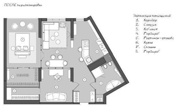 В гостях: Стометровая квартира в Саратове с видом на Волгу