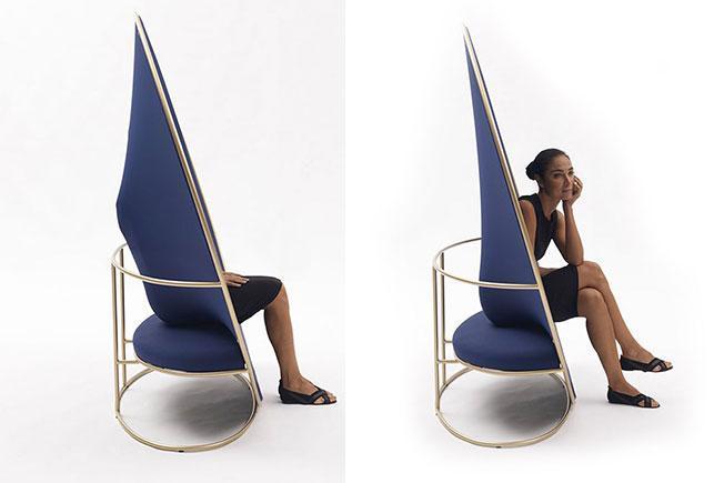 Кресло Anish спроектировал Эмануэле Маджини (Emanuele Magini) для Campeggi