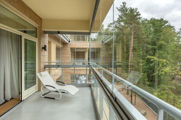 Современный Балкон и лоджия by LUMON