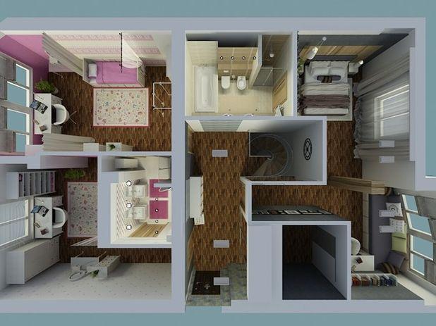 Современный План этажа by EgoDesign