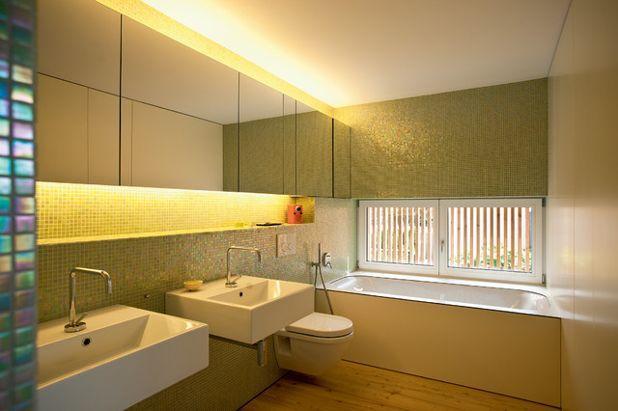Современный Ванная комната by elanandez