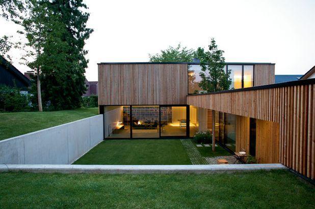 Современный Фасад дома by elanandez