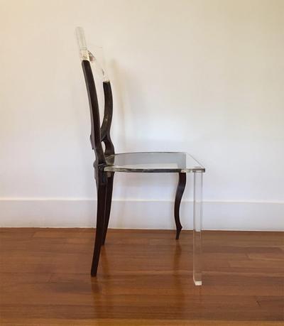 Татиана Фрейтас: реставрация деревянной мебели с помощью прозрачного акрила