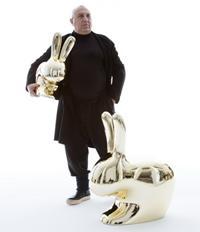 Стандартные кухни Veneta CucineStefano Giovannoni и его последняя работа - золотые кролики