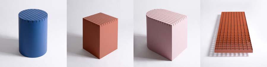 Бельгийская студия Nortstudio разработала коллекцию уличных лавочек, дизайн которых навеян архитектурой и атмосферой мегаполиса