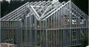 Преимущества строительства дома из металлокаркаса