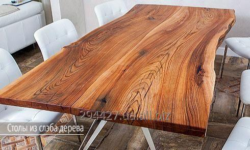 Столешницы из древесины: слэб и массив