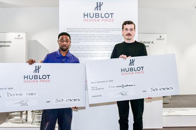 Премию Hublot Design Award 2018 получил Дози Каноэ