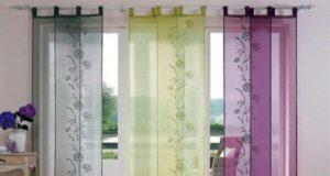 Японские шторы – изящество и красота