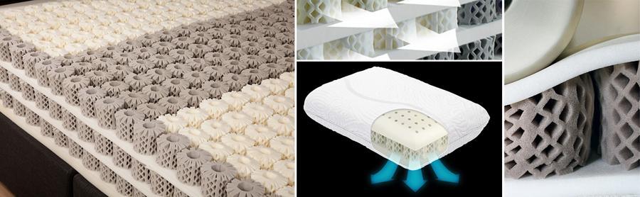 матрас по технологии IQ Sleep с пенными пружинами Octaspring – VELVET с массажным эффектом