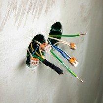 Электрические точки для установки выключателей и розеток