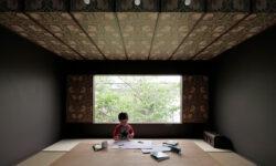 Houzz Япония: Дом с видом на сакуру и гнездом для чтения (12 photos)