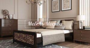 Виды основания для двуспальной кровати из массива