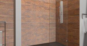 Душевые перегородки в интерьере ванной комнаты